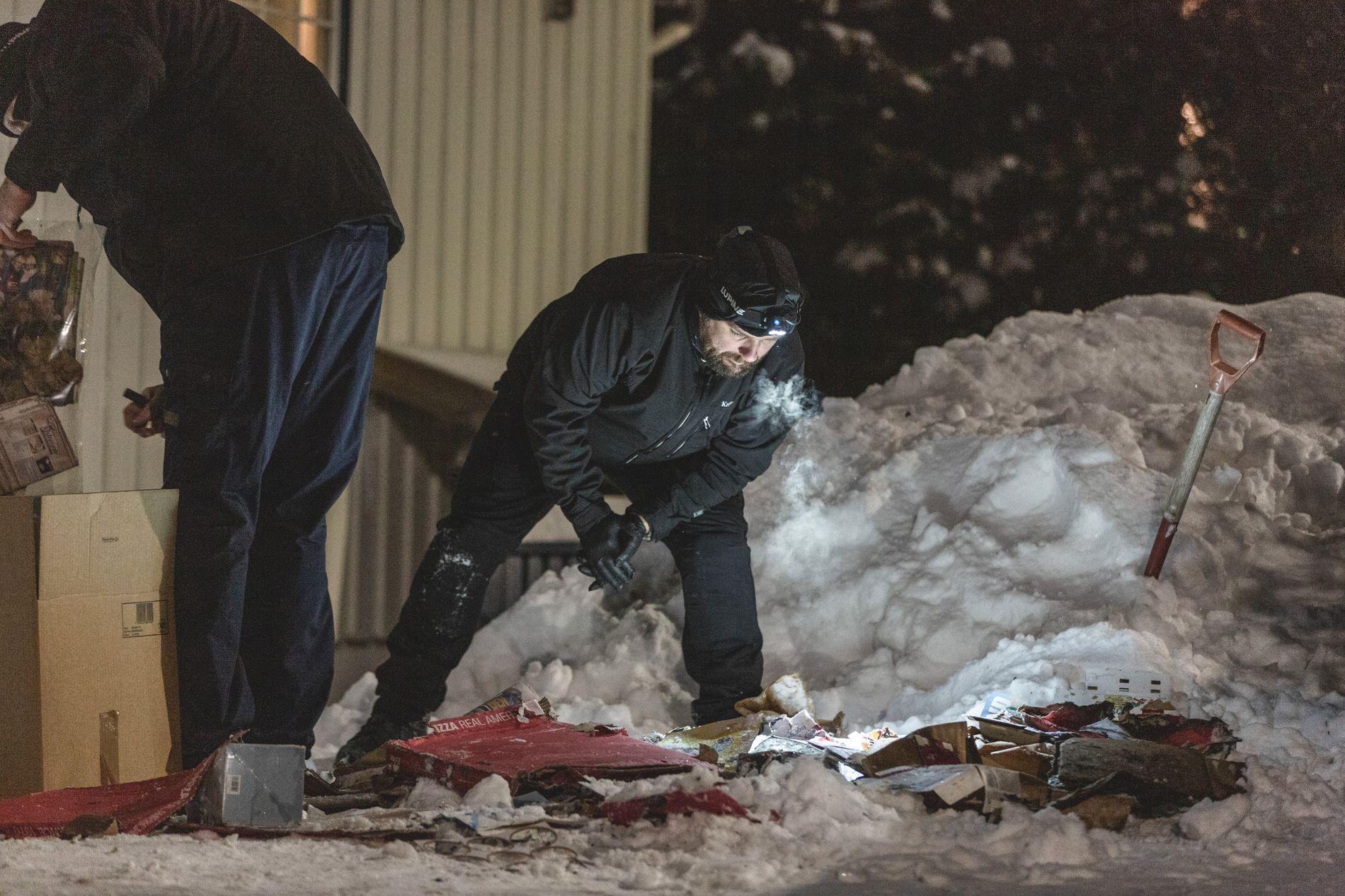 BRANN: I januar fikk politiet melding om brann i en søppelbøtte utenfor boligen til Wara.