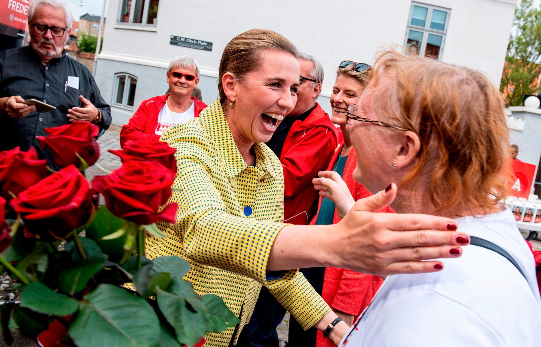 FAVORITT? På målingene fram mot valget er det Mette Fredriksen og Socialdemokratene som har vært favoritter.