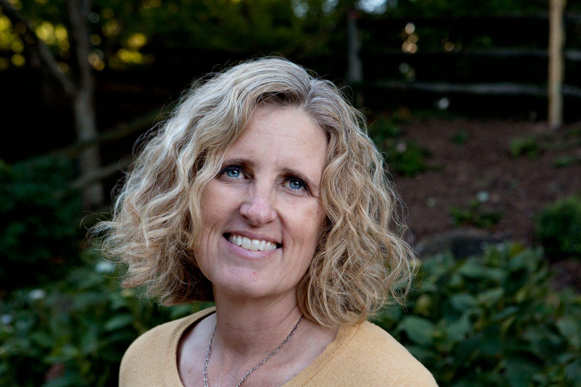 KAMPKLAR: Juli Briskman har startet sin valgkampanje for en plass i fylkesstyret.