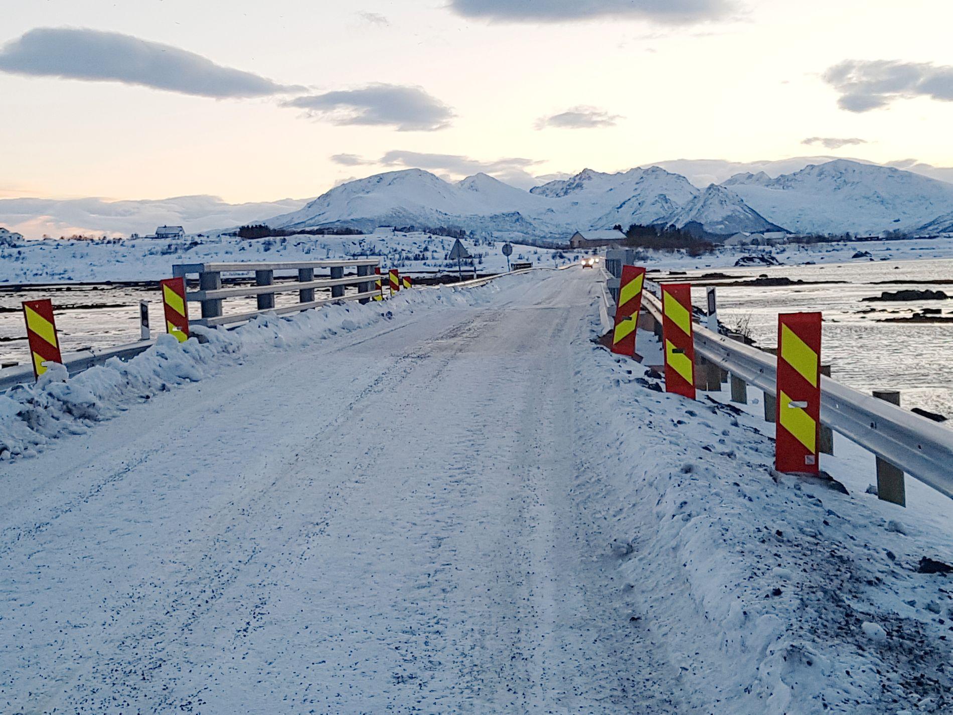 TILTAK: En midlertidig bro avlaster nå gamle Strauman 3. Foto: LEIF GODVIK, VG