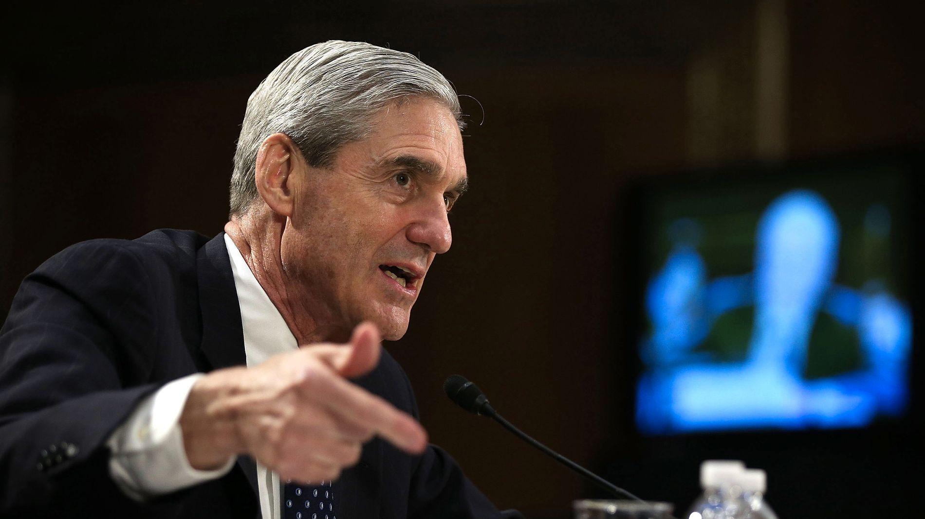 UNDERSØKTE: Robert Mueller har stått bak den to år lange etterforskningen som endte i en 448 sider lang rapport denne uken.