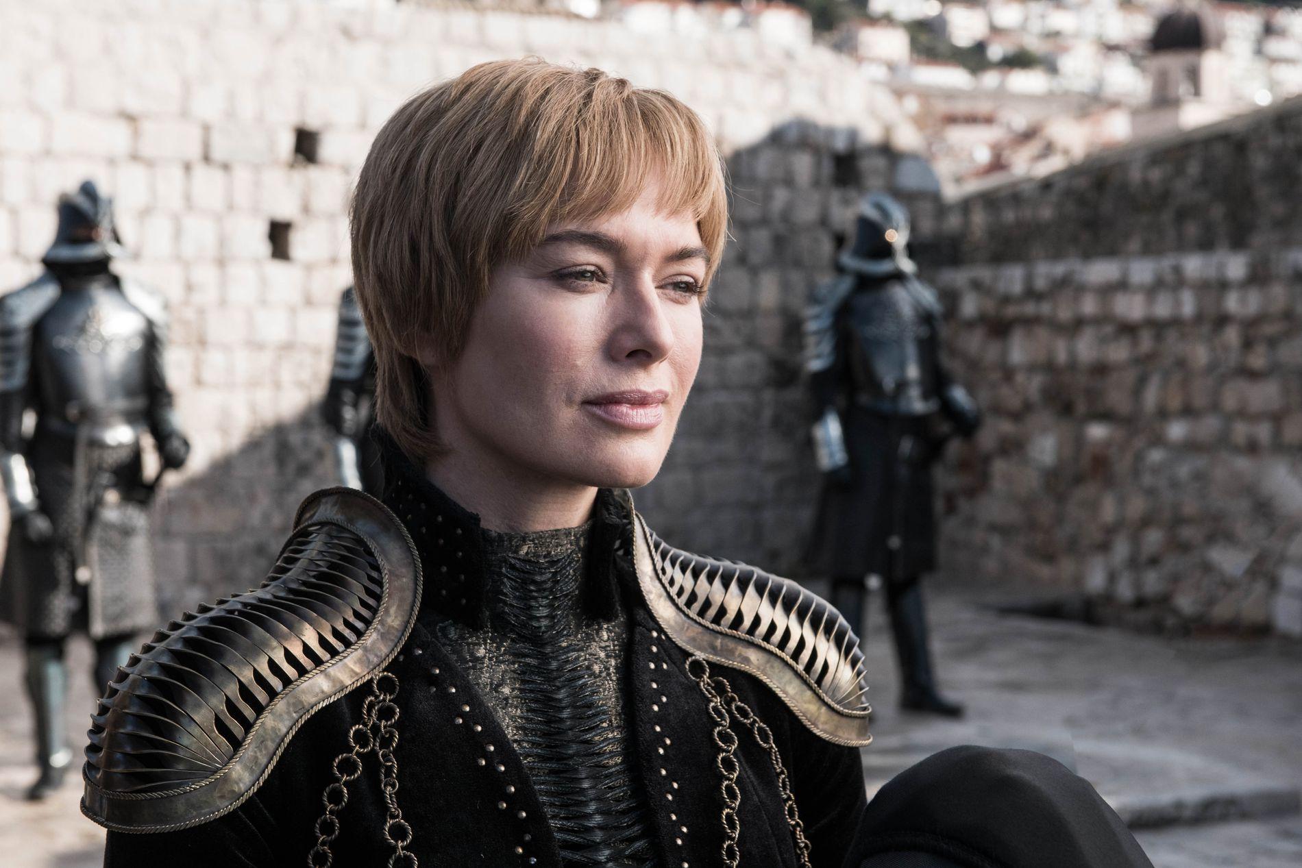 GLAD: Cersei Lannister (Lena Headey) har på ingen måte tenkt å la nok en mulighet til å ta over verden gå fra seg.