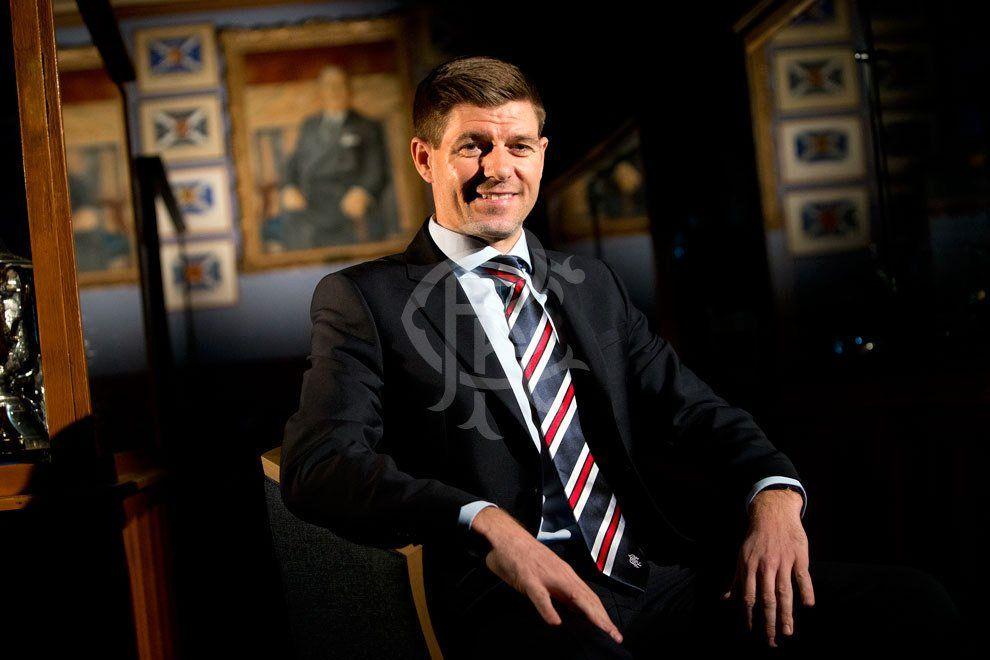 NY SJEF: Steven Gerrard er klar for sin første managerjobb.