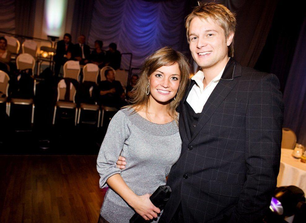 GIFTEKLAR: Gaute Ormåsen og forloveden Marie Enoksen har vært sammen i ni år. Her er de på «Skal vi danse» i 2008. Foto: SARA JOHANNESSEN/VG