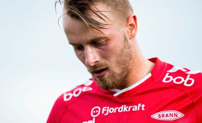 I FARE: Kristoffer Larsen må passe på ikke å pådra seg gult kort mot Bryne om han ikke skal gå glipp av kampen mot Kristiansund.