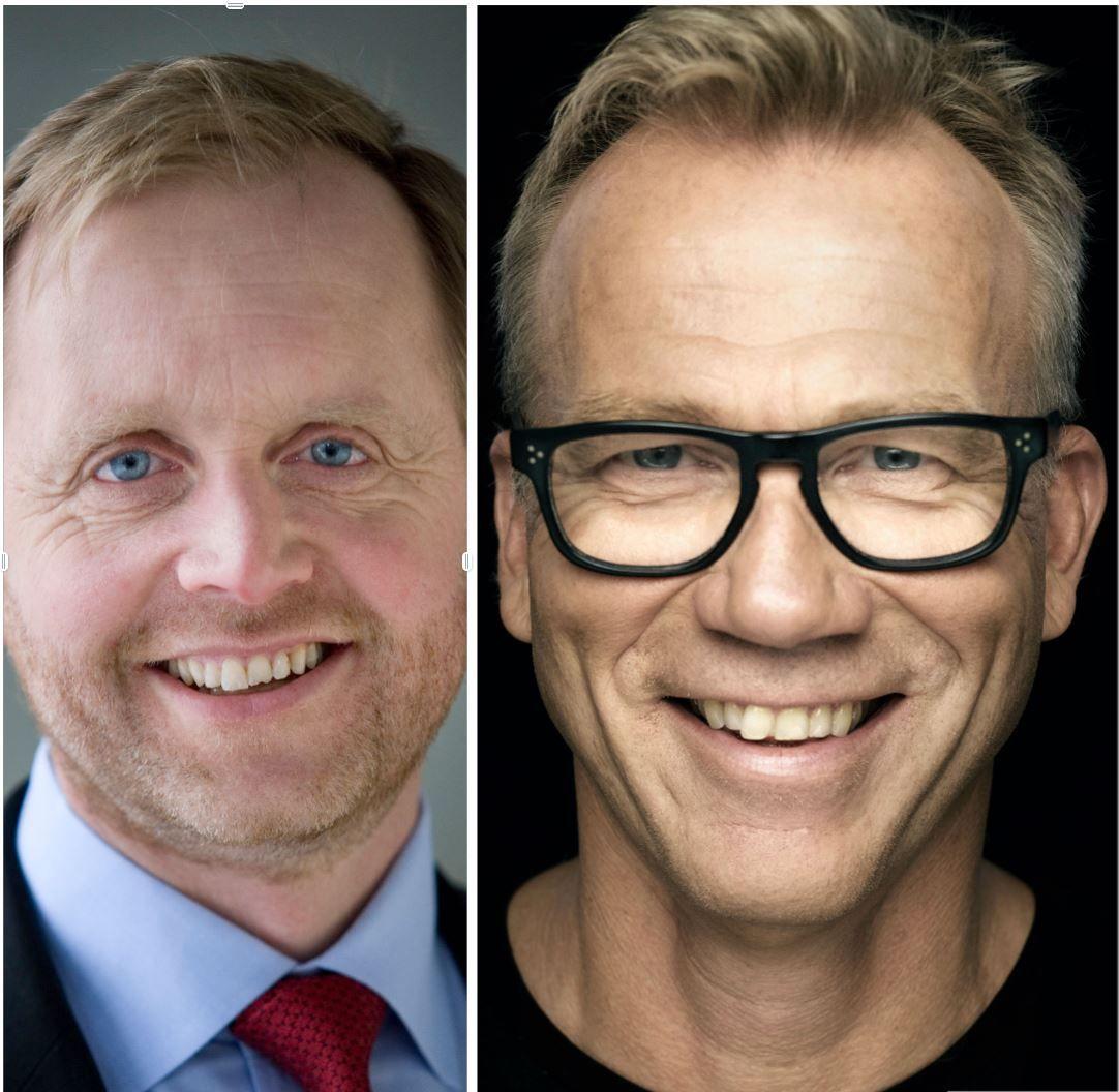 Bjørn Kjærand Haugland og Petter Gulli
