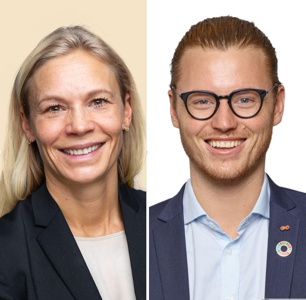 Karin Greve-Isdahl og Marcus Bruns