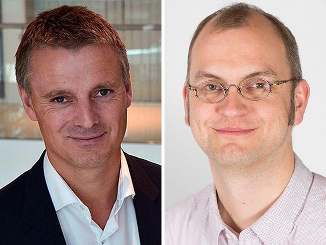 Kjetil Lund og Henrik Sætness