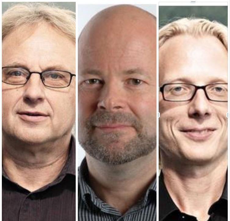 Arne Wiig, Rune Jansen Hagen, Ivar Kolstad