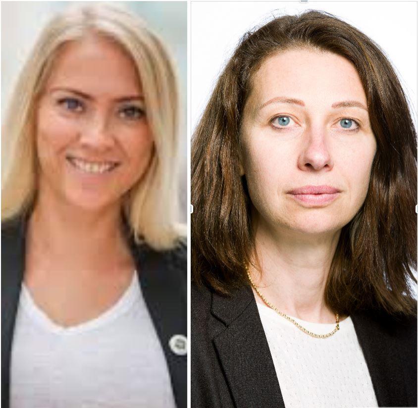 Lill Sverresdatter Larsen og Silvija Seres