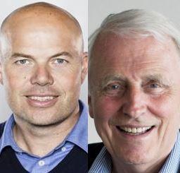 Atle Guttormsen og Thore Johnsen