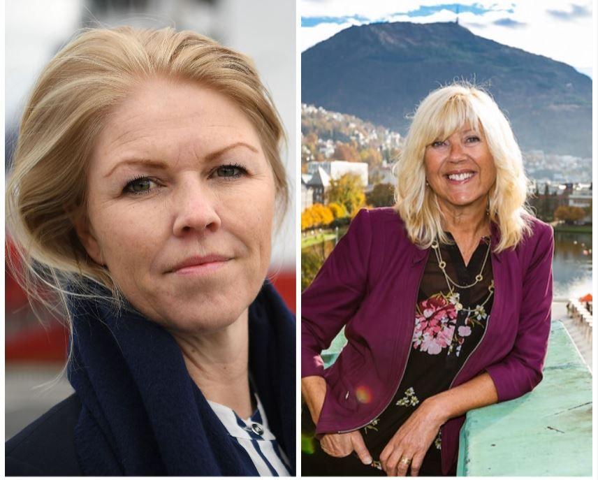 Siv Remøy-Vangen og Marit Warncke