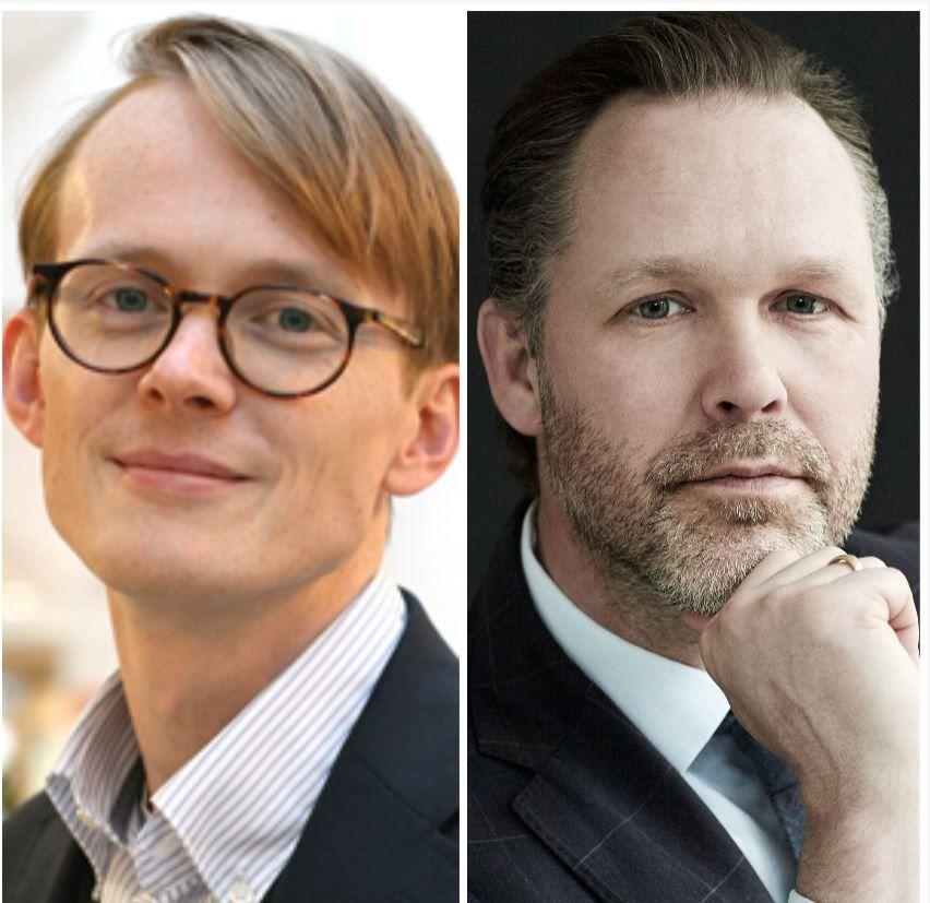 Håkon Sæberg og Nicolai Broby Eckert