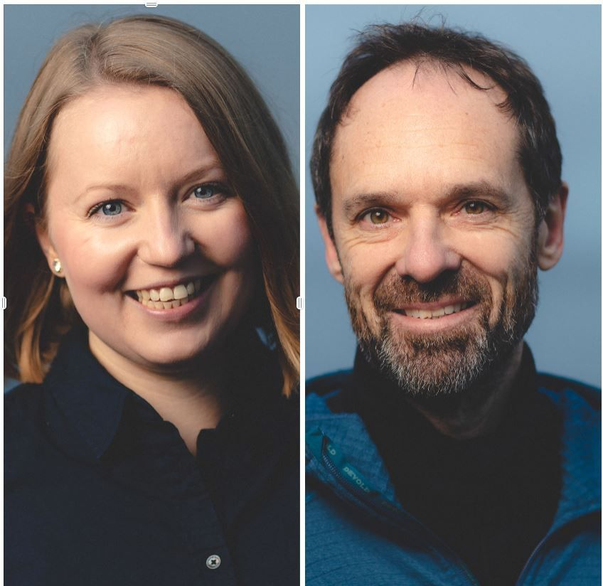 Therese Rist og Jan-Gunnar Winther