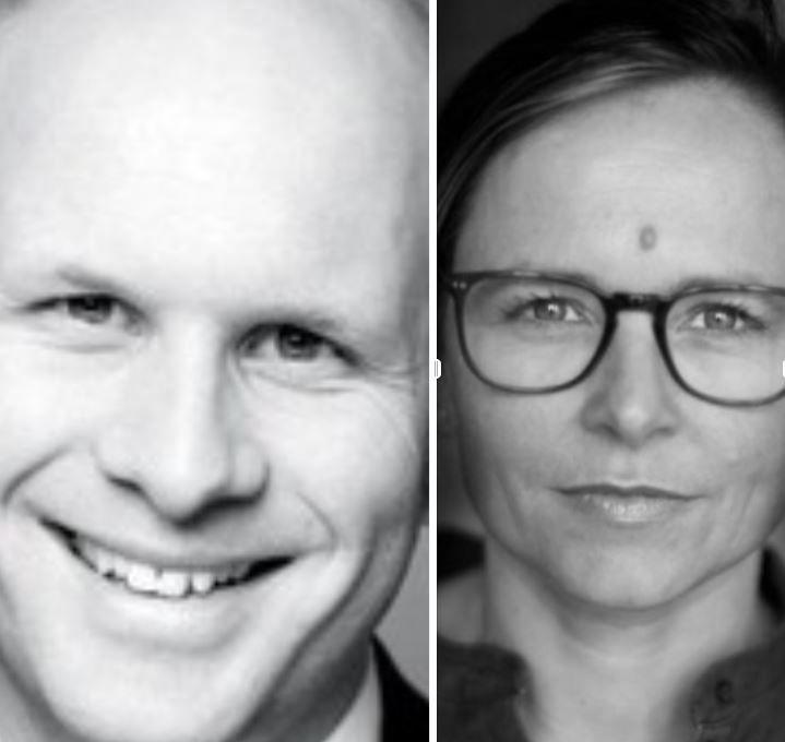 Øyvind Torp og Anette Mellbye