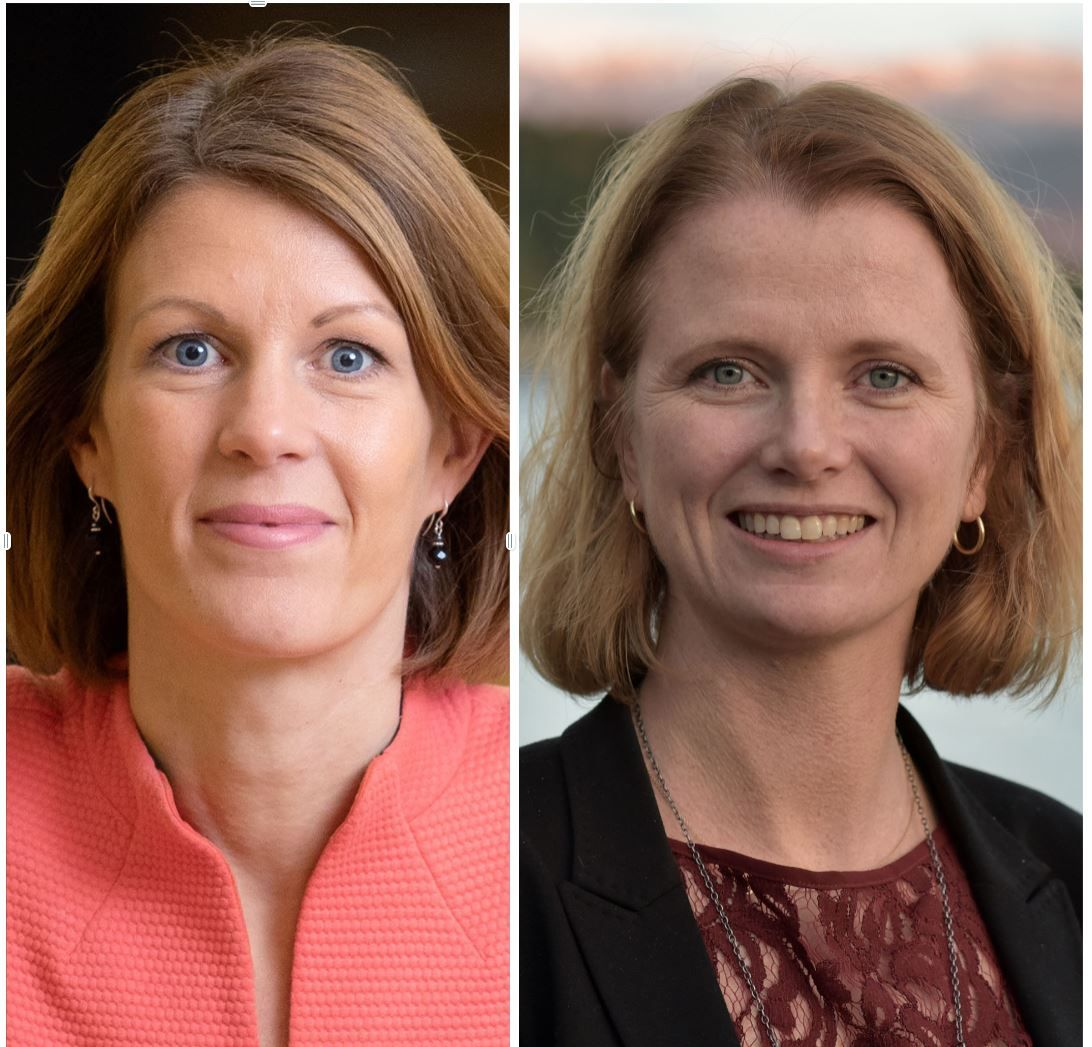 Ragnhild Janbu Fresvik og Hege Økland