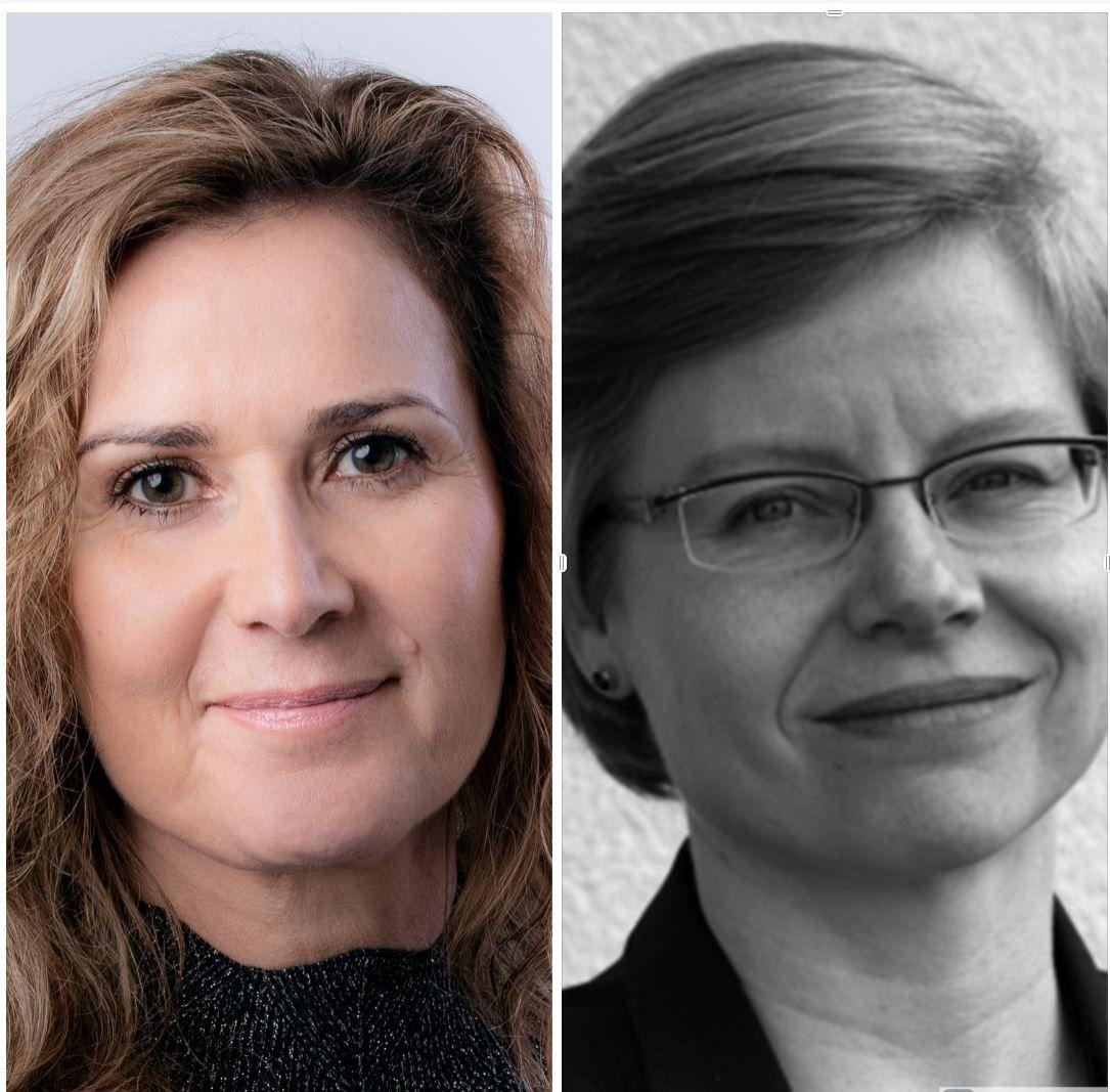 Karita Bekkemellem og Hanne Mette Dyrlie Kristensen