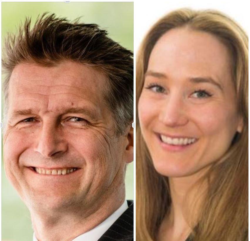 Audun Wickstrand Iversen og Helene Steen