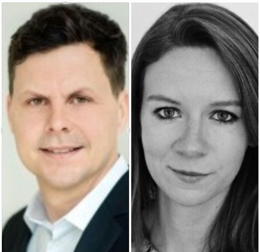 Eivind Pytte Ødegård og Linn Aakvik
