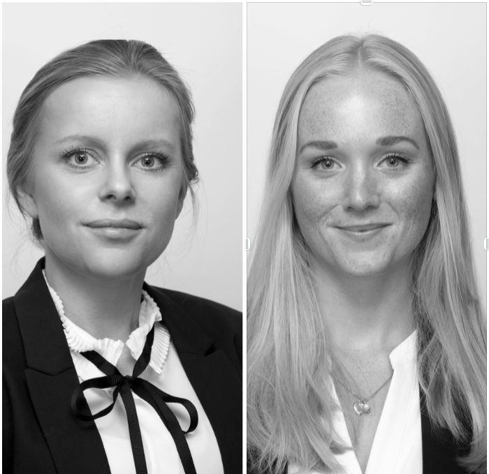 Kine B. Christophersen og Nora Marie Ulltveit-Moe Eikenæs