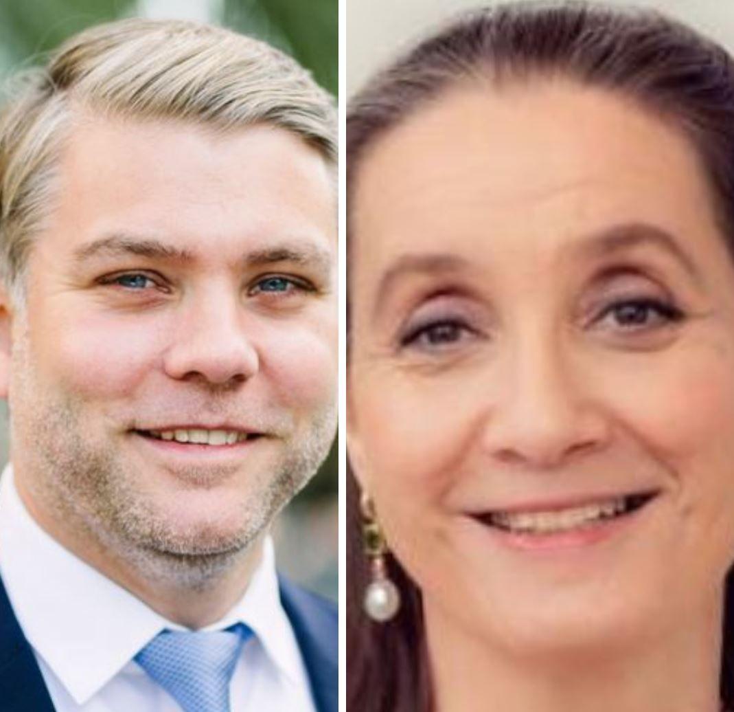 Kim Gabrielli og Tonje Sandberg