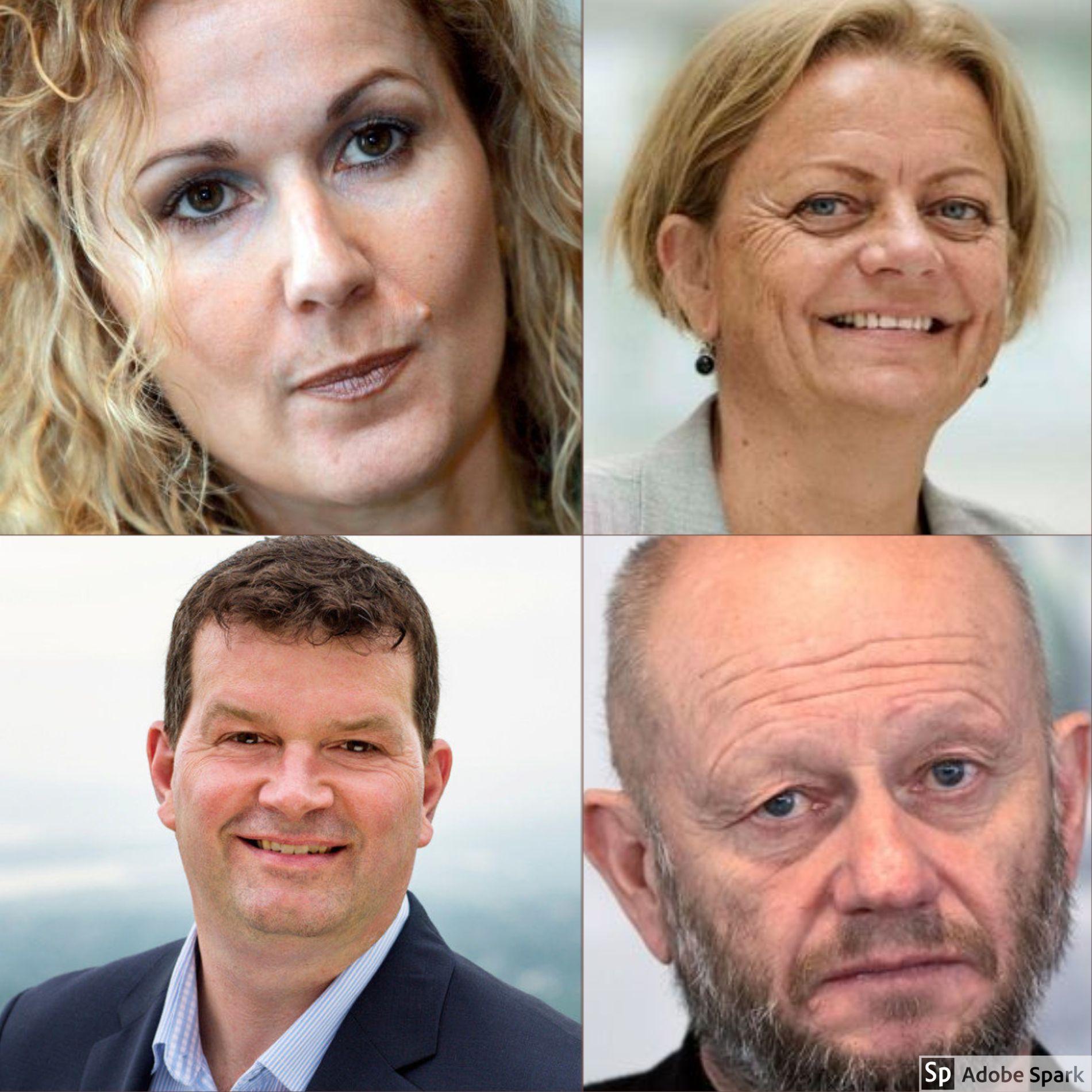 Karita Bekkemellom, Anne Kjersti Fahlvik, Hans-Christian Gabrielsen, Stein Lier Hansen