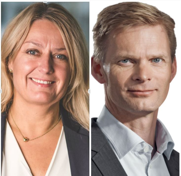 Hege Støre og Øyvind Husby