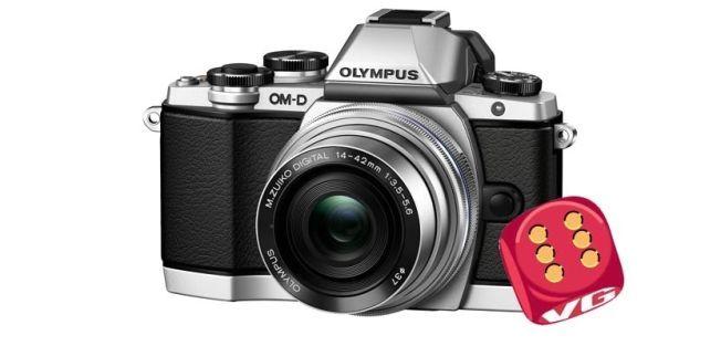 GODT VALG: Olympus OM-D E-M10 er blant årets beste kompakte systemkamera, mener Lyd og Bilde.