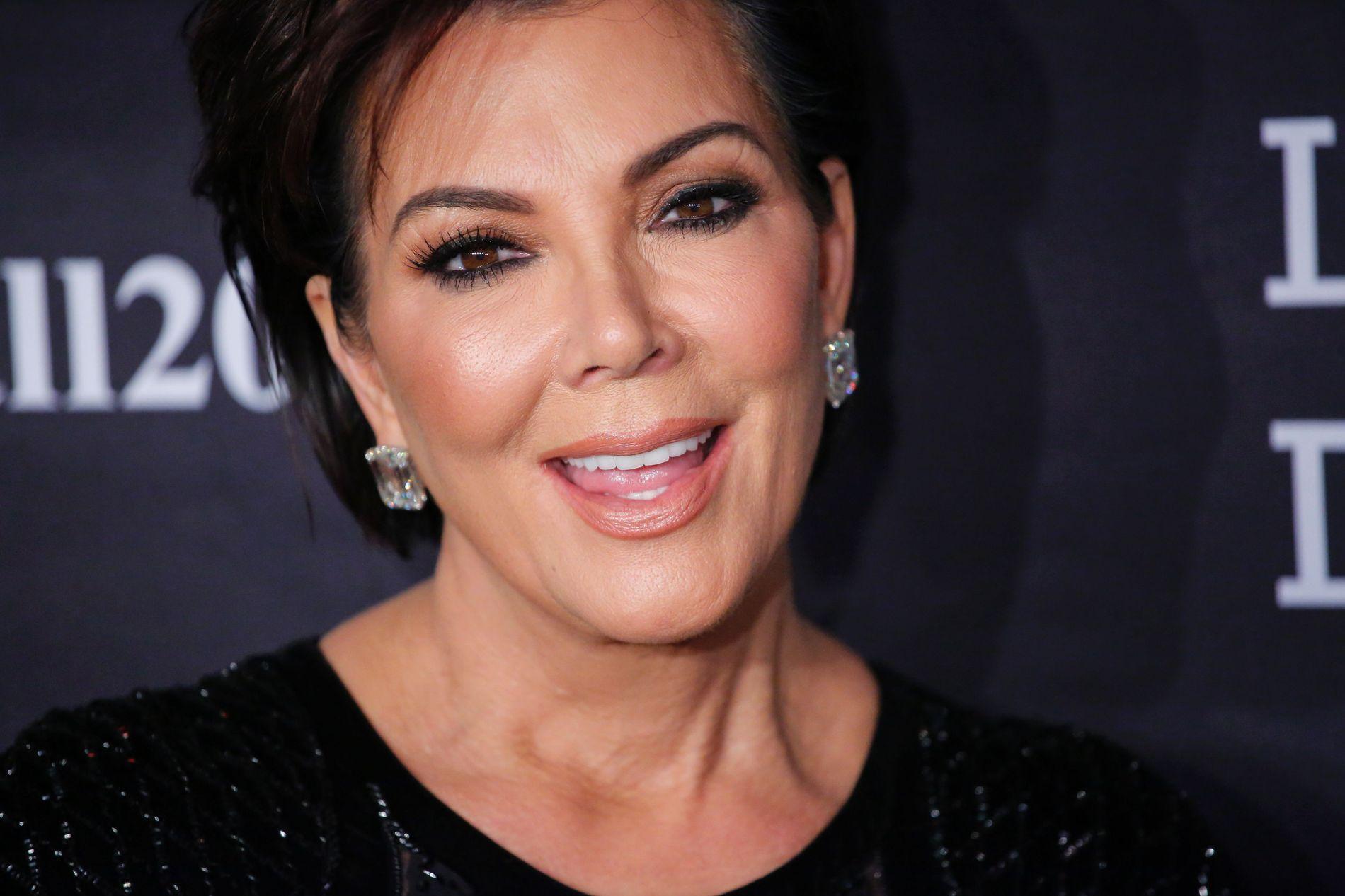 NEKTER FOR BRÅK: Kris Jenner avviser ryktene om at hun og svigersønn Kanye West krangler.