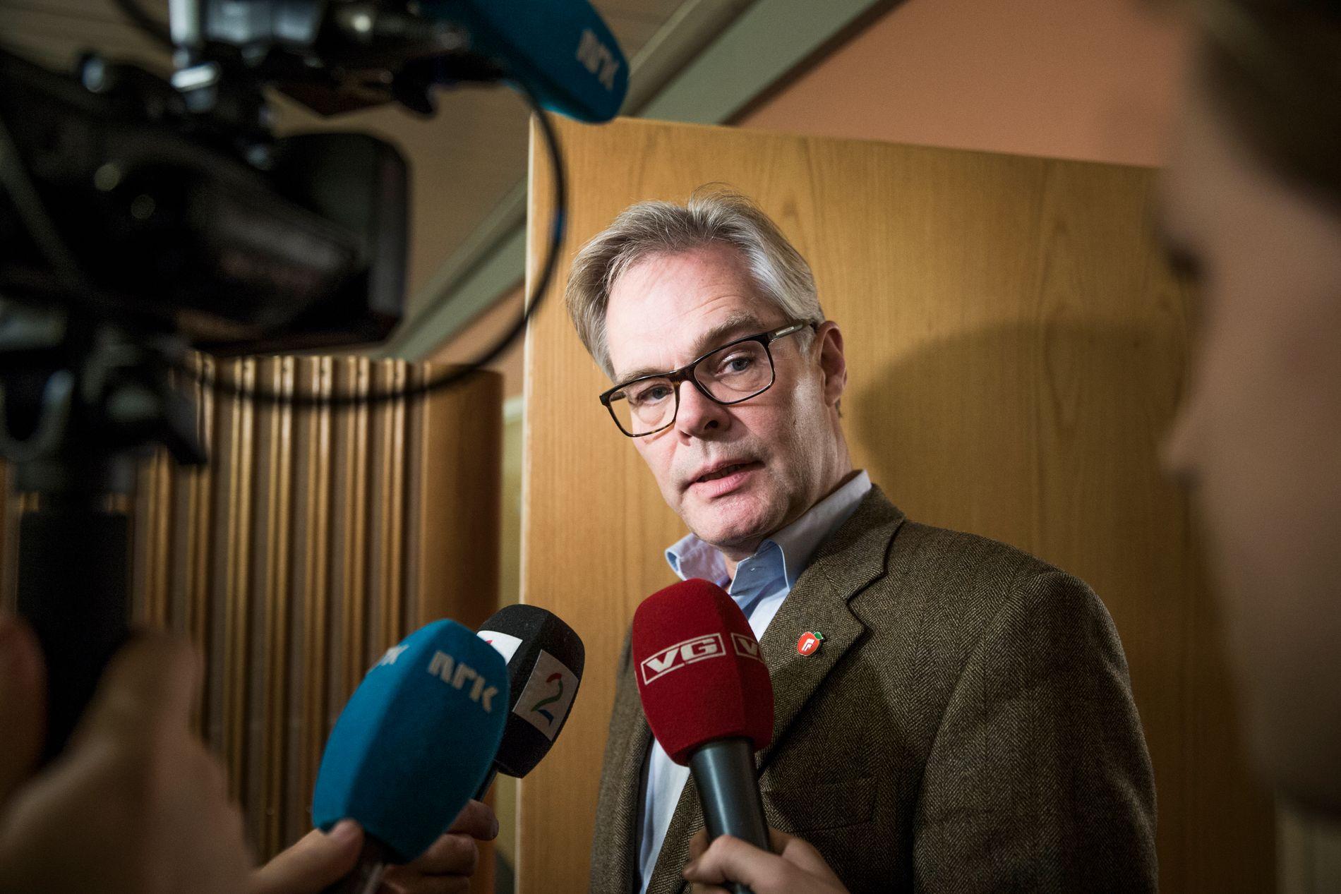 RYDDER OPP: Frps parlamentariske leder Hans Andreas Limi sier til VG at partiet har bidratt med å rydde opp i Keshvari-saken.
