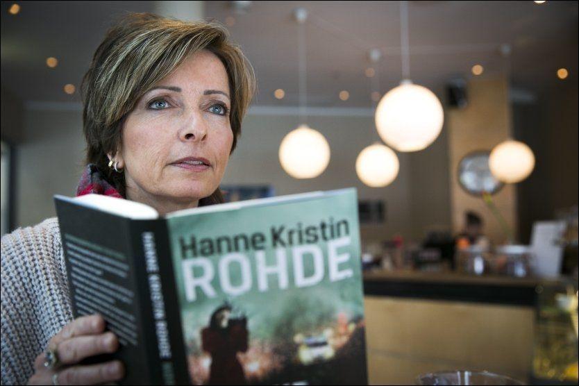 KRIM: - Når boken til Hanne Kristin Rohde likevel er verdt lesetiden, handler det først og fremst om vår heltinne Wilmas interne kamp mot det enkelte kaller «glasstaket», skriver VGs anmelder. Foto: Jan Petter Lynau/VG