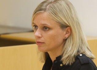 POLITIADVOKAT: Kristin Rusdal, her før et fengslingsmøte i Oslo tingrett i 2012.