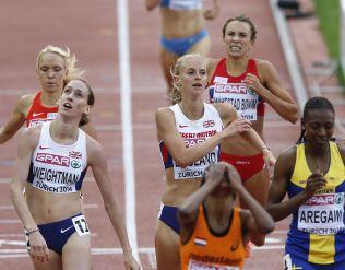 IKKE MER Å GI: Ingvill Måkestad Bovim tok 11. plass på 1500 meteren i EM for to år siden. Hun løp for bronsemedalje i kveld, men kroppen hennes «sa nei» da det gjensto 200 meter av finaleløpet.