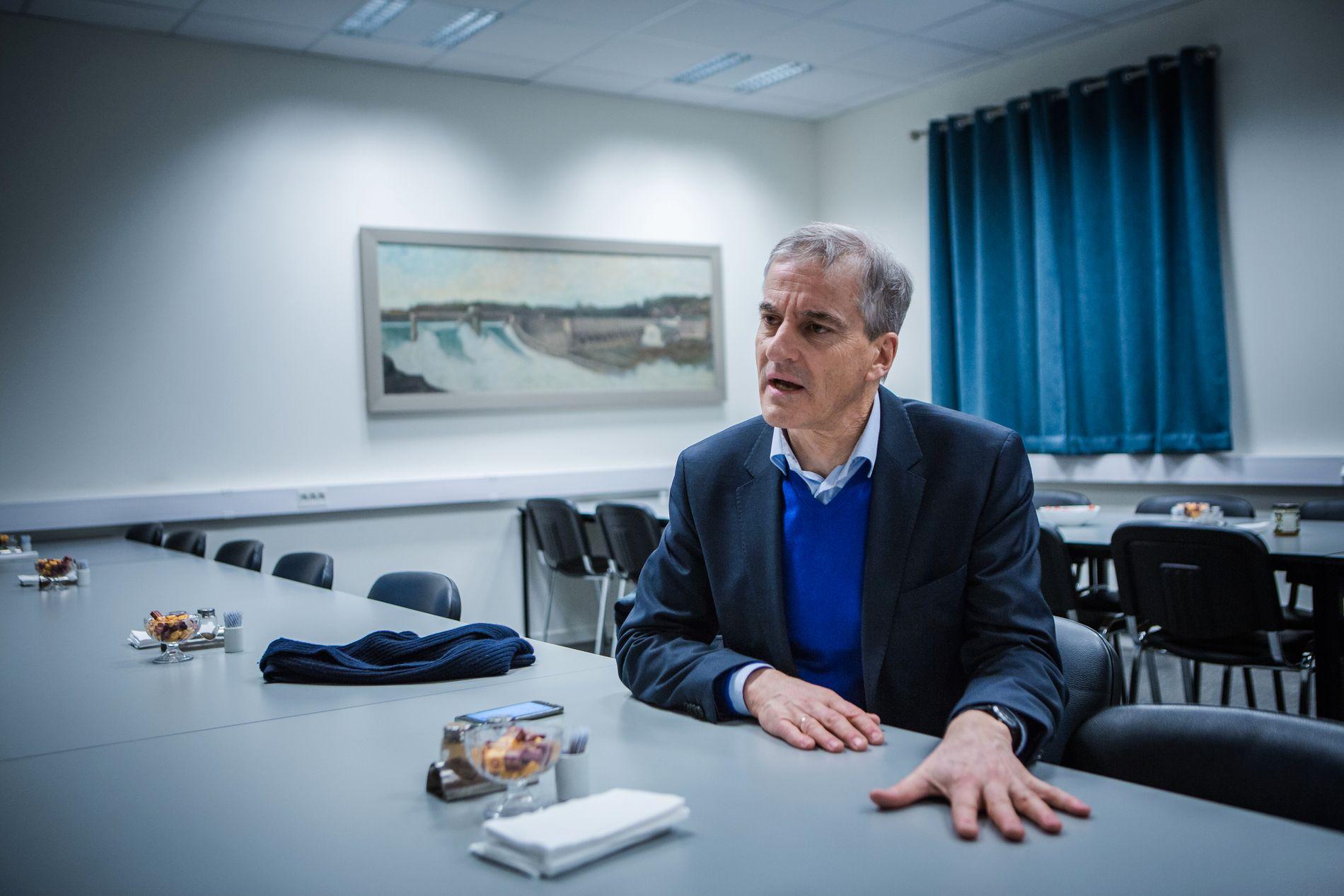 VIL FJERNE EU: Ambisjonen om medlemskap i Den europeiske union skal ut av Arbeiderpartiets program. Ap-leder Jonas Gahr Støre støtter forslaget.