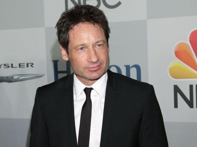 ALLSIDIG: Nesten samtidig som han igjen skal tre inn i rollen som FBI-agenten Fox Mulder, slipper David Duchovny sitt første album. Foto: AP