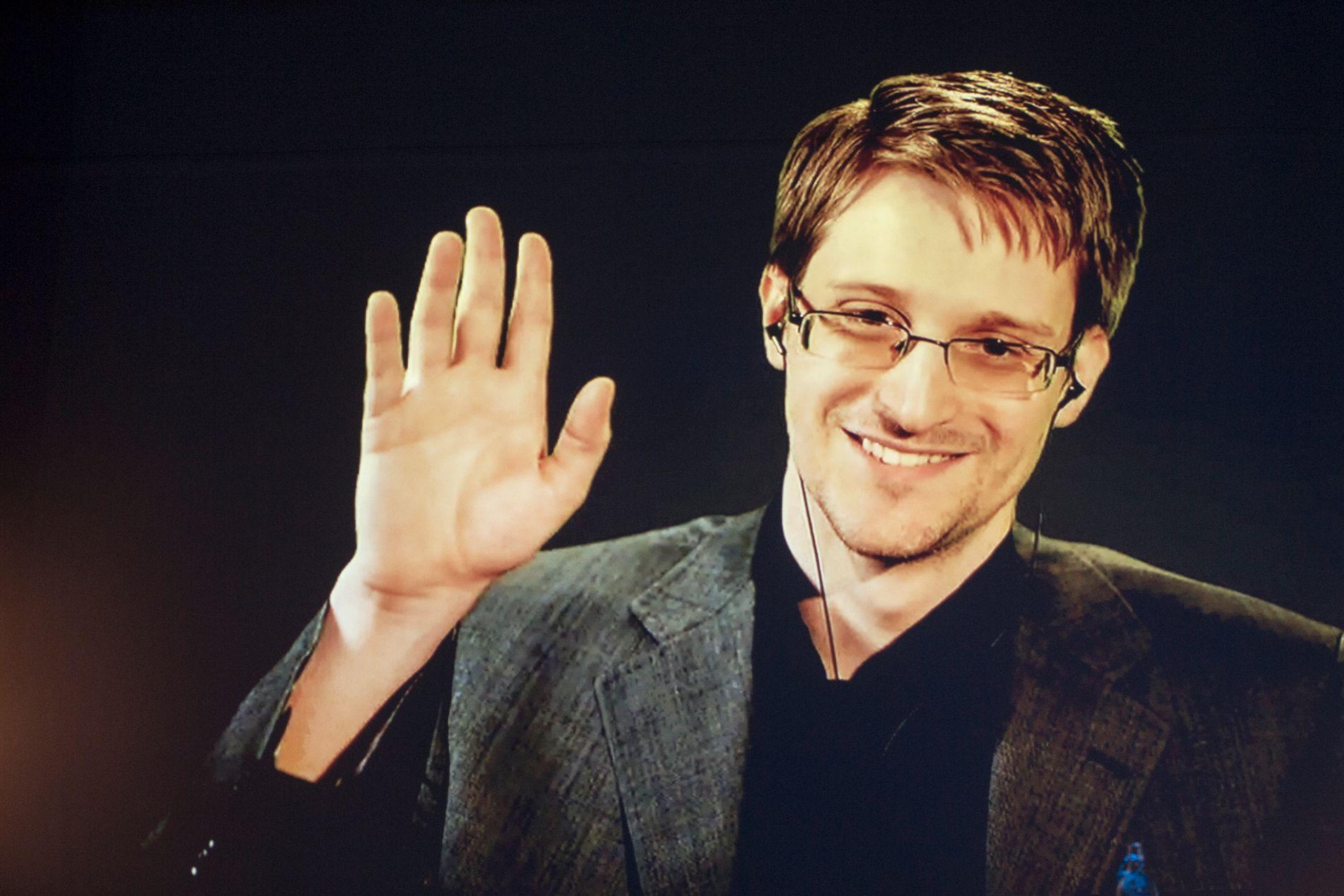 FAVORITT: Varsleren Edward Snowden nevnes også i år blant favorittene til å få Nobels Fredspris. Foto: Svein Ove Ekornesvåg / NTB scanpix
