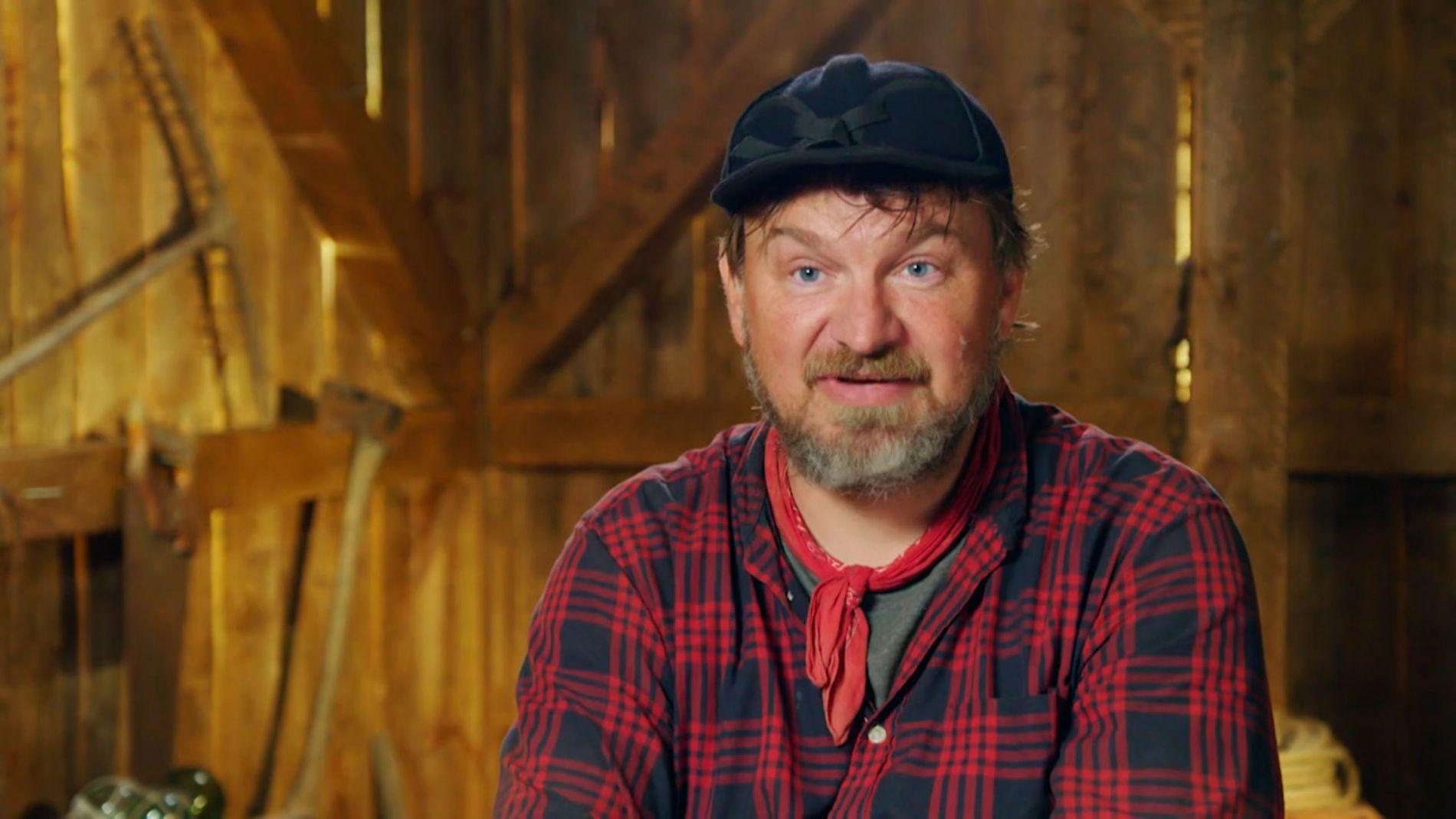 AVHOLDSMANN: Halvor Sveen er fortsatt med i «Farmen» – åtte uker ut i innspillingen.