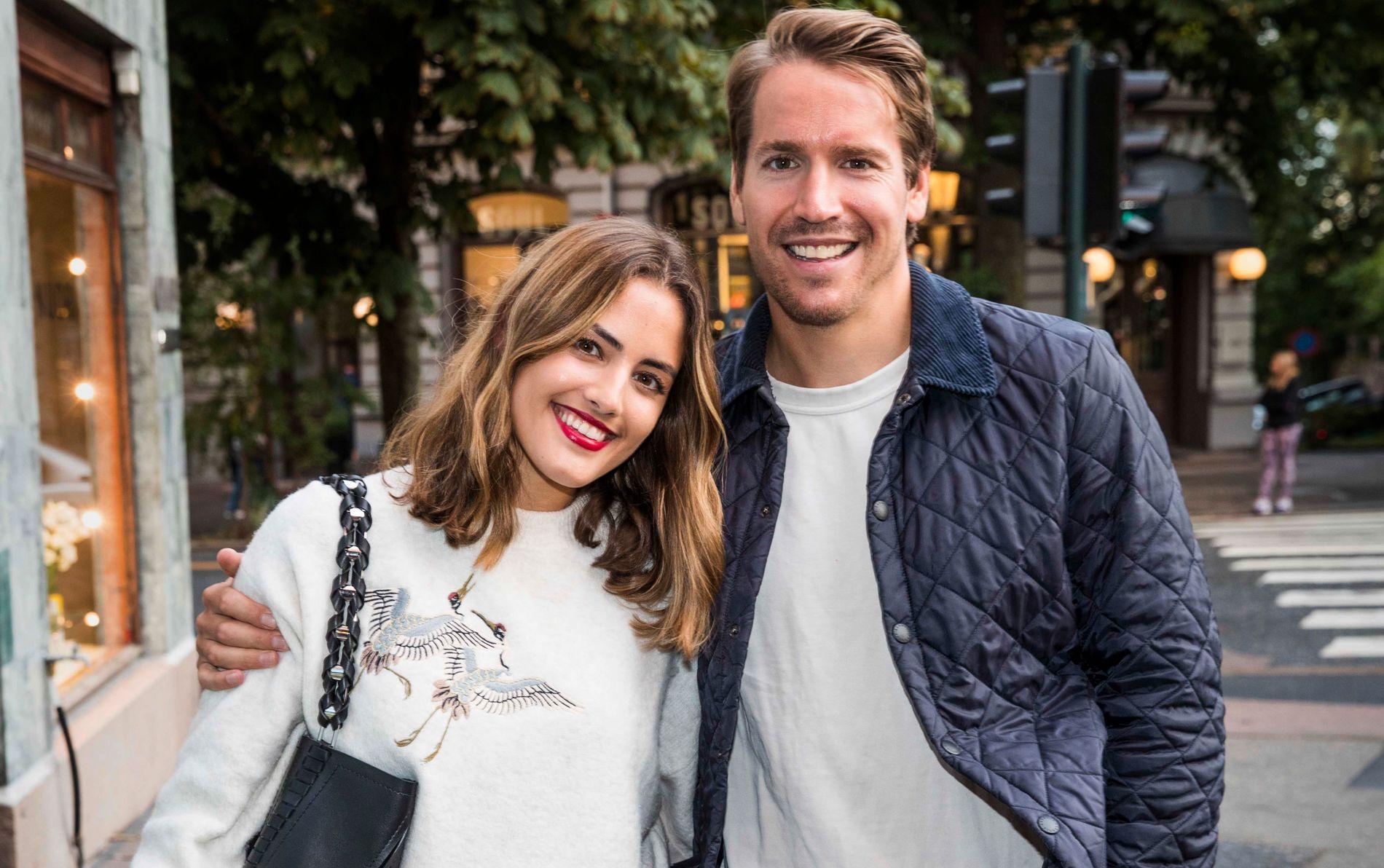 ENDELIG FRI: Samantha Skogrand og Emil Hegle Svendsen har endelig fått «et normalt liv» sammen.