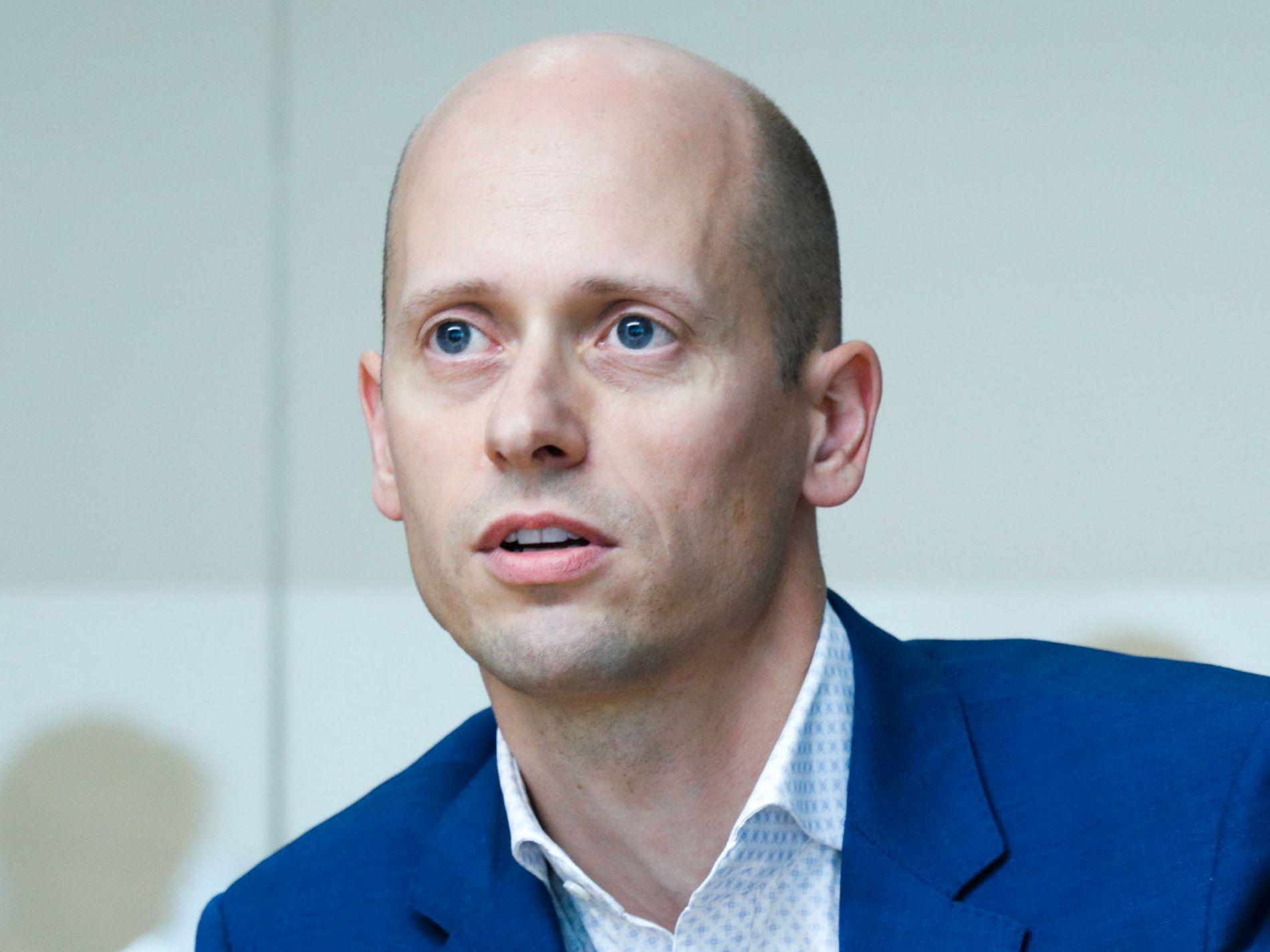 Øystein Børsum, kredittstrateg i Swedbank.