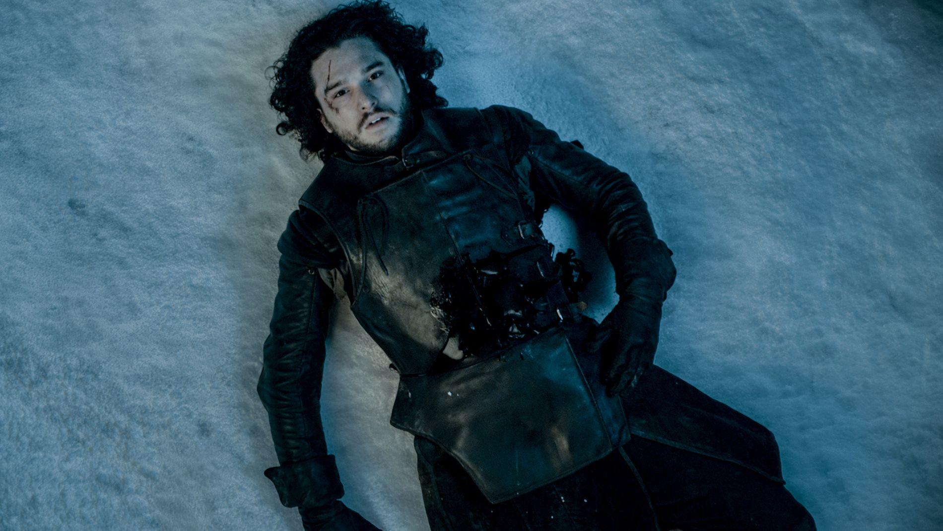 STARK: Jon Snow (Kit Harington) slik vi sist så ham i slutten av sesong 5.