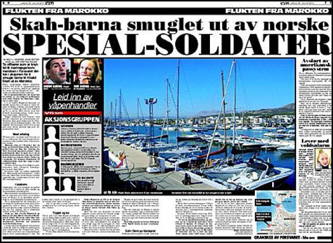AVSLØRING: VG avslørte i 2010 at to offiserer knyttet til marinejegerkommandoen, deriblant nå avdøde Trond Bolle, deltok i aksjonen for å smugle barna til Khalid Skah ut av Marokko.