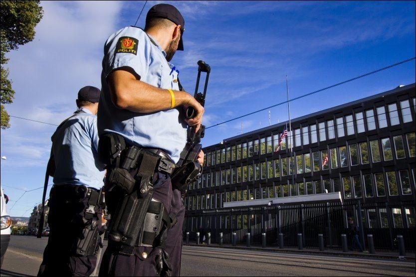 MER POLITI: Økte bevilgninger vil føre til mer politi i arbeid her i landet. FOTO: Frode Hansen