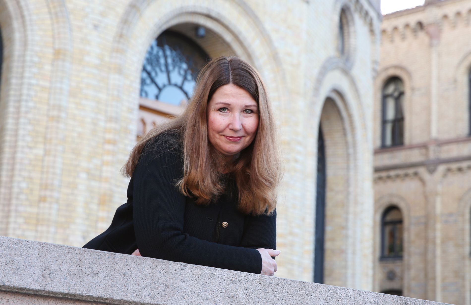SKOLE-POLITIKER: Turid Kristensen representerer Høyre på Stortinget.