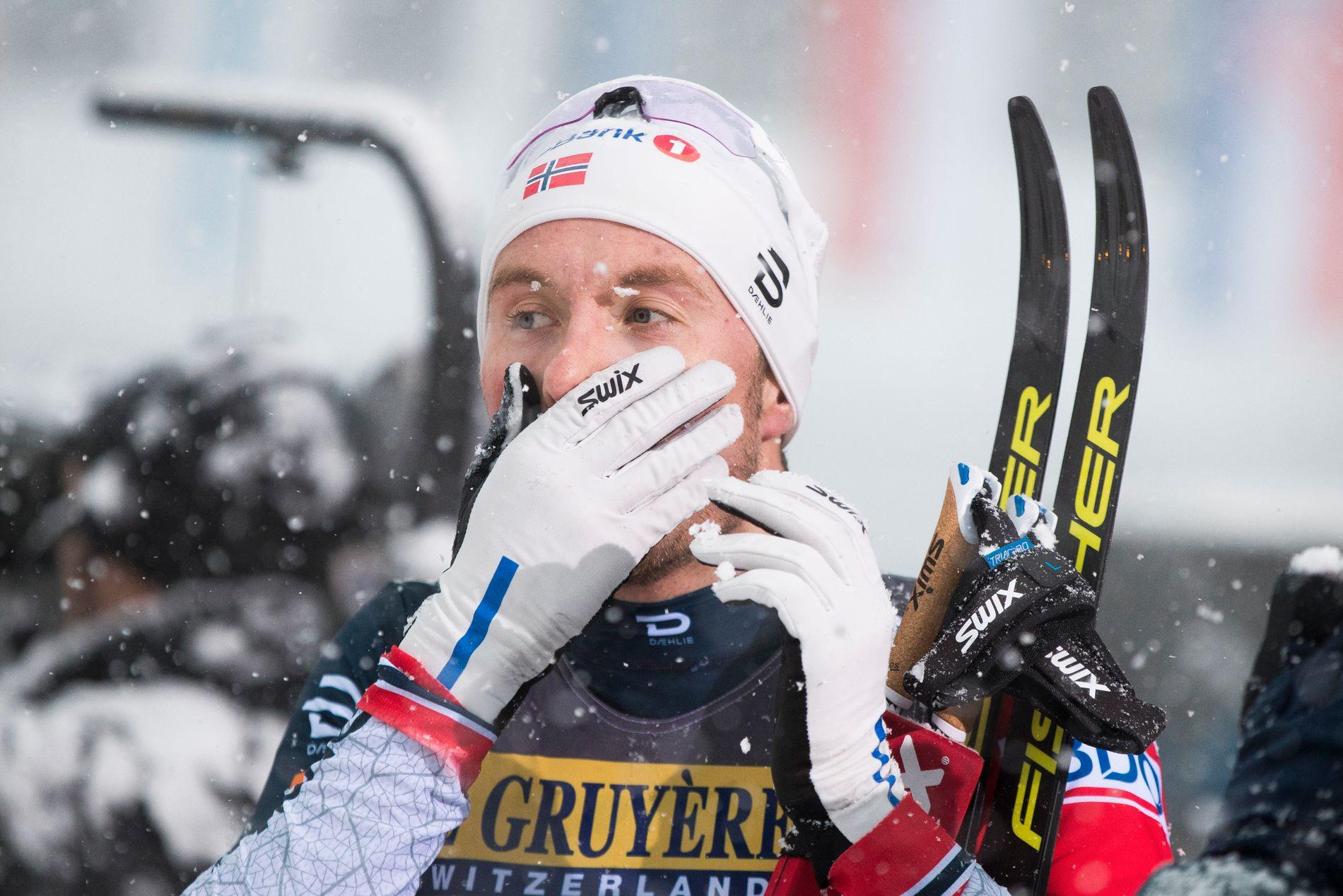 REISER HJEM: Emil Iversen vant gårsdagens etappe, men reiser hjem selv om han lå på 3. plass i sammendraget etter etappen.