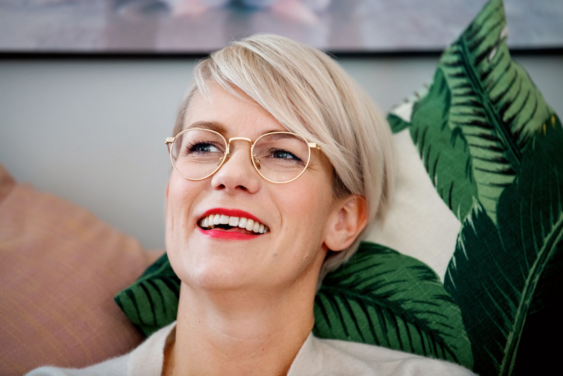 Sigrid Bonde Tusvik viser sin egen fødsel på TV - Kjendis