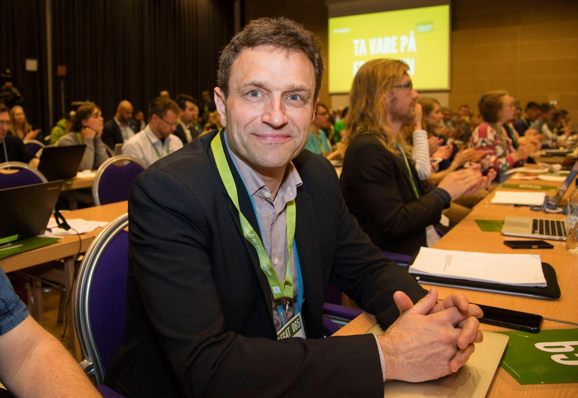 TALSPERSON: Arild Hermstad i MDG.