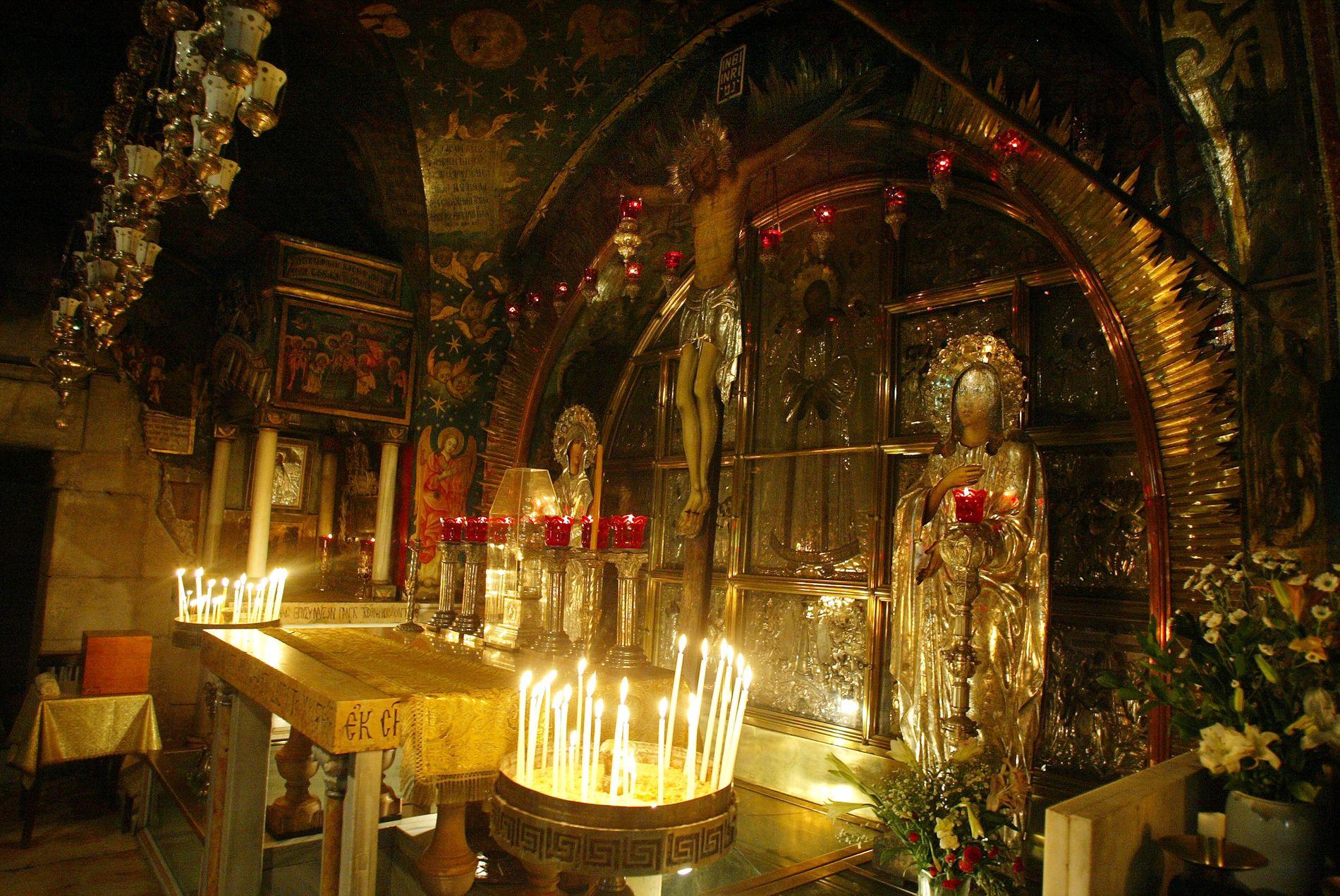 JERUSALEM: Den hellige gravs kirke i Jerusalem. Foto: Gorm Kallestad / NTB scanpix