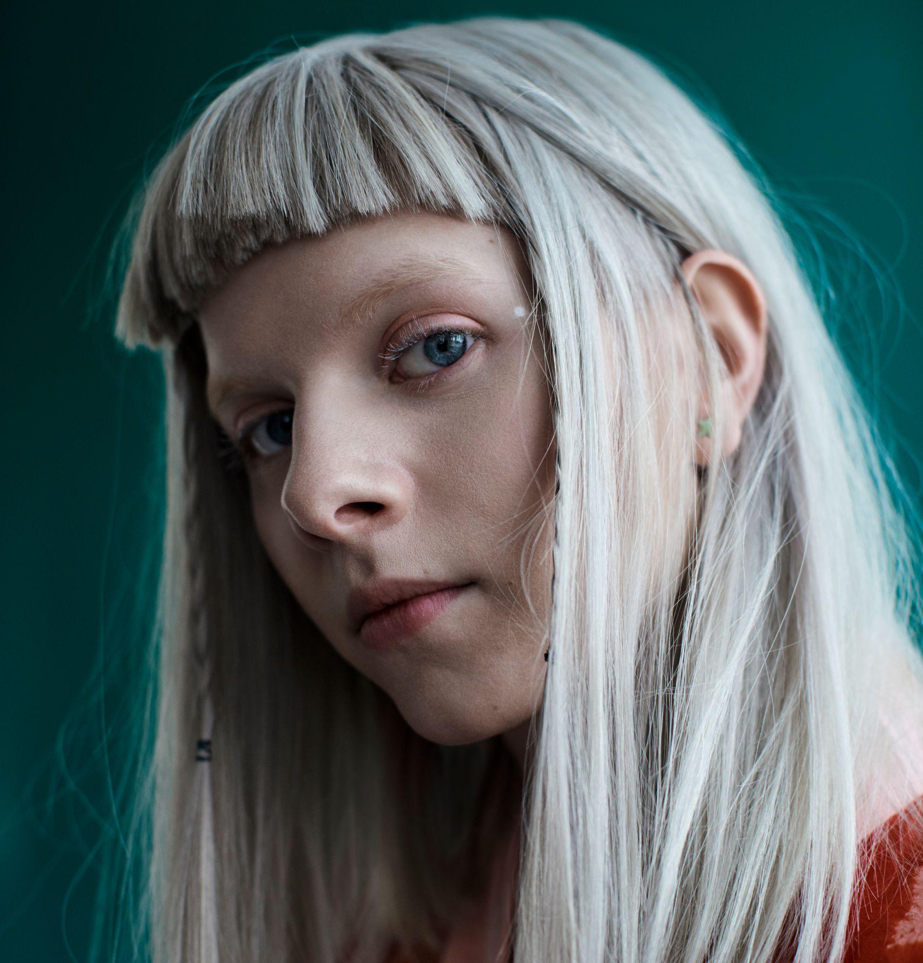 KLINER TIL: Aurora Aksnes.