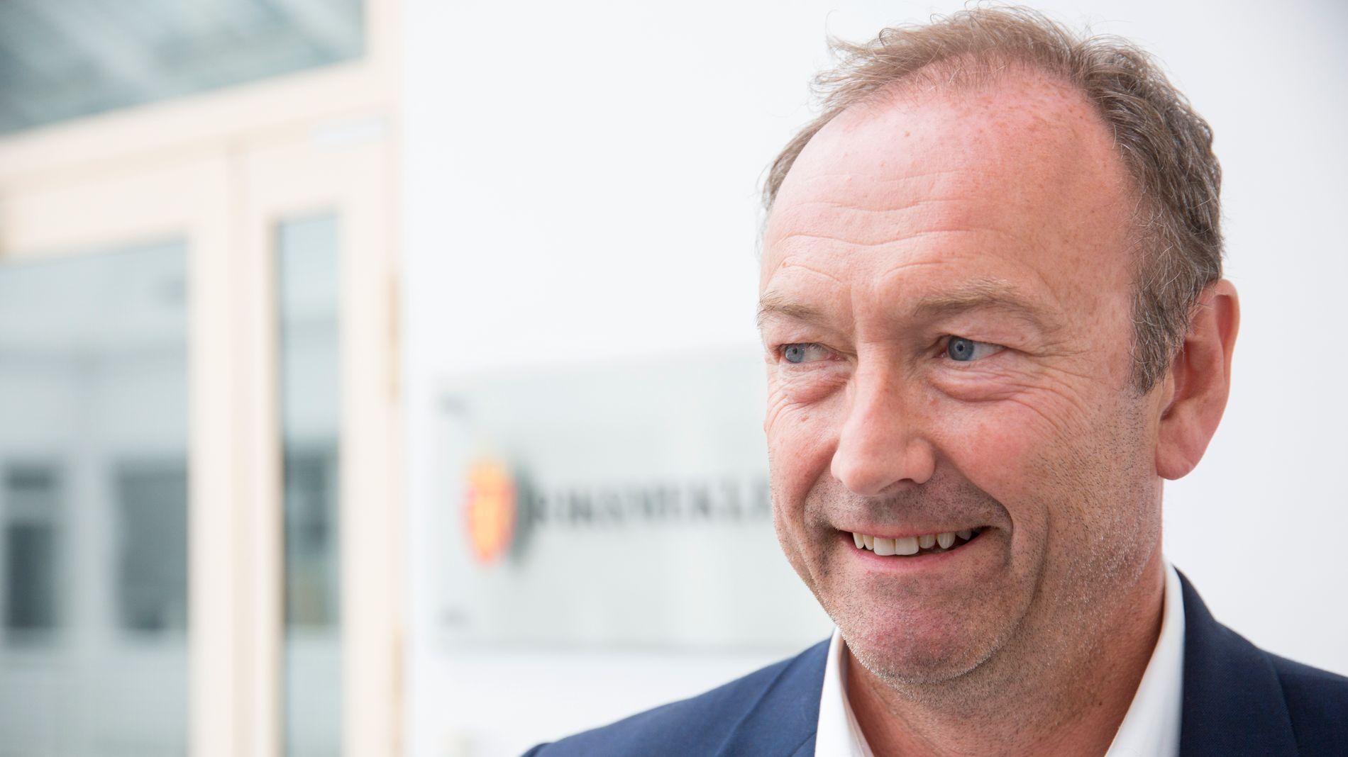 RAMMER OMSTILLINGEN: Knut Morten Johansen, informasjonssjef i SAS, mener selskapets omstillingsevne rammes av avgiftstrykket.
