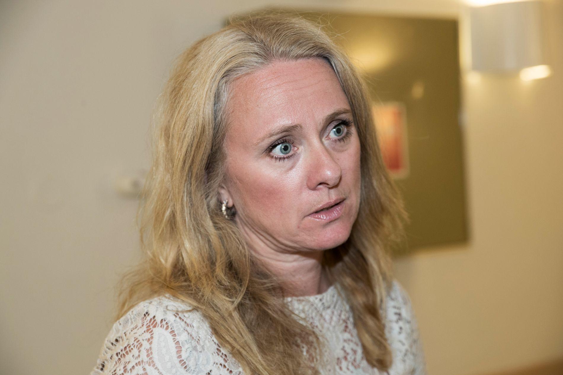 SKATTEN DIN: Arbeids- og sosialminister Anniken Hauglie (H) slår kraftig tilbake med skatteargumenter.